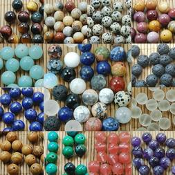 Wholesale Natural Gemstone Round Spacer Beads Jewelry Making