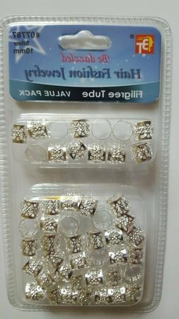 Dreadlock Beads Adjustable Hair Braid Filigree Tube Value Si