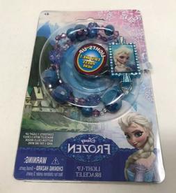 Disney ELSA Frozen Light Up Bracelet Bead in Rainbow Colors