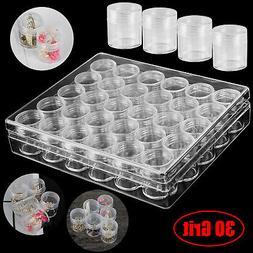 Embroidery Storage Container Beads Box Transparent Diamond P