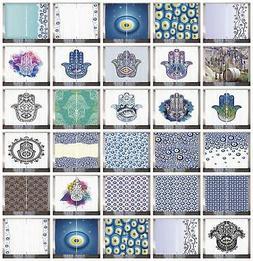 Evil Eye Curtains 2 Panel Set Decor 5 Sizes Available Window