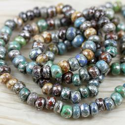 Exclusive!!! 31/0 Moon Picasso Fancy Mix Czech seed beads -