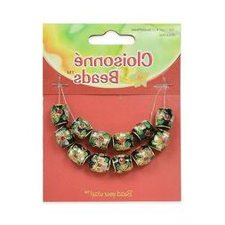 Expo Cloisonne Beads  Pack of 12