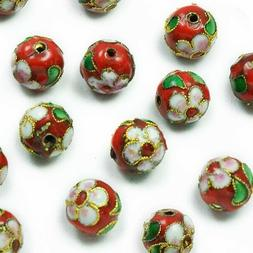 Expo Cloisonne Beads Pack of 16