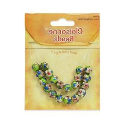Expo Cloisonné Beads Pack of 20