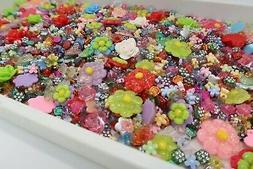 Plastic Beads Bulk Assorted Mix Shape Size Color DIY Craft J
