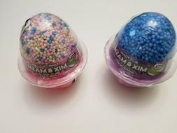 Foam Beads Floam Slime Small Styrofoam Balls Pink Rainbow Tr