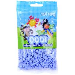 Perler Fun Fusion Beads 1000/Pkg-Blue/Creme