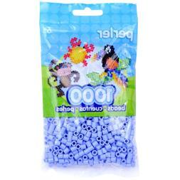 Perler Fun Fusion Beads 1000/Pkg-Blue/Creme