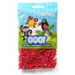 Perler Fun Fusion Beads 1000/Pkg-Red