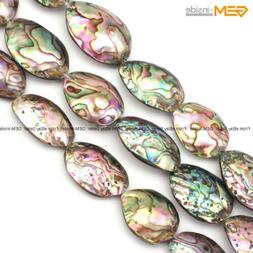 gem inside natural genuine abalone shell beads