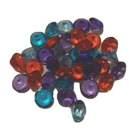 Glass beads For Vases 37 Pc Mix Color | Purple | Read | Blue