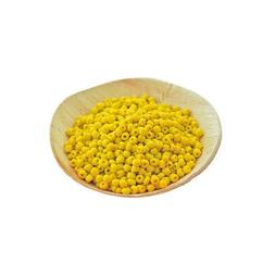 Glass Seed Beads 6/0 Yellow Opaque Color 4mm - 50g - over 65