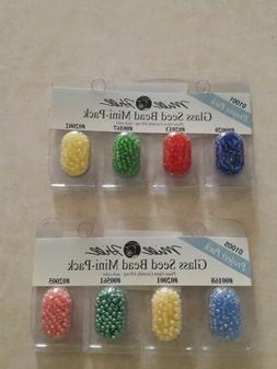 Mill Hill  Glass Seed Beads Mini Packs 830mg -2 packages