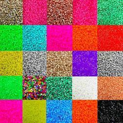 GT- 1000Pcs 5mm Perler Beads Colorful Hama Beads DIY Educati