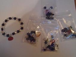 Halloween Pumpkin Charm Bracelet Kit Beading Beads Make Your