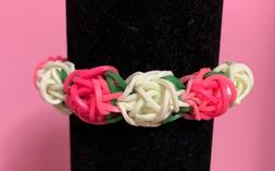 Handmade Loom Rubber Band Bracelet