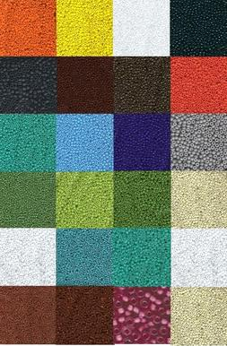 """Japanese Seed Beads 11/0  Opaque Colors   29 Gram Tubes 6"""" T"""