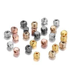 Jewelry 300/500pcs Spacer Making  DIY for Square Bulk Bracel