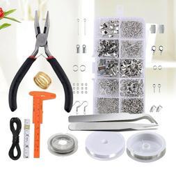 Jewelry Making Kit Repair Tool and Supplies Pliers Findings