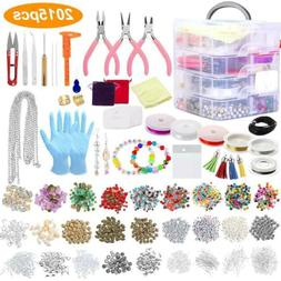 2015PCS Set Adults Jewellery Making Beads Mix Pliers Finding