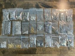 Jewelry Making Lot Grab Bag Beads Charms And Findings