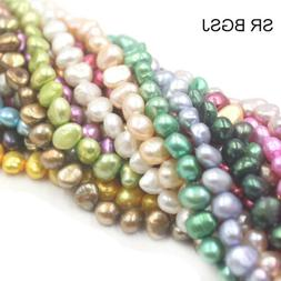 Jewelry Making Natural Freeform Freshwater Cultured Pearl Be