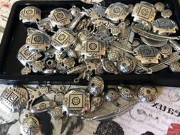Jewelry making supplies SOUTHWESTERN Mix Beads Pendants Char
