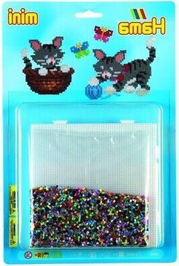 Kit Beads And Sheets Mini  Cat - Hama