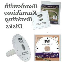 Beadsmith Kumihimo Braiding Disk Choose Round Disc, Square P