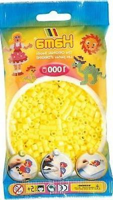 Bulk Buy: Hama Pastel Yellow 207-43 Iron On Midi Beads