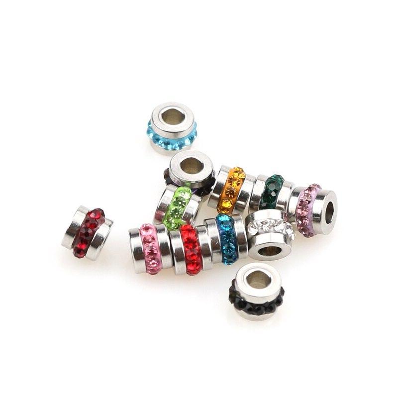 Aiovlo DIY <font><b>Beads</b></font> Charm <font><b>Beads</b></font> Making Accessories