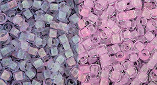 11 0 japanese seed beads glow in