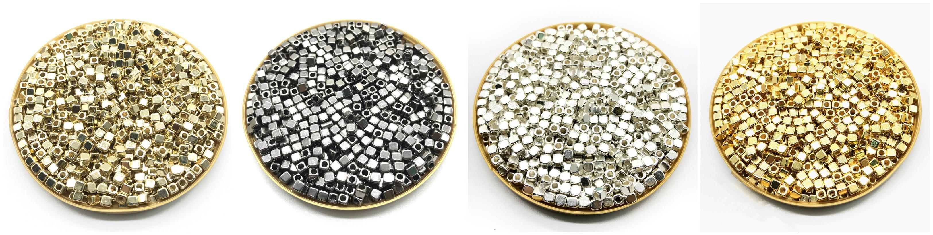 200Pcs Acrylic Plated CCB <font><b>Beads</b></font> for DIY