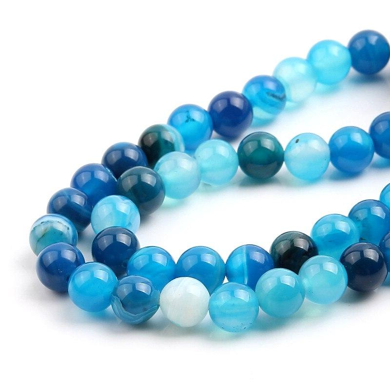 4 Matte Lava Onxy Loose Stone Round <font><b>Beads</b></font> For DIY Bracelet Necklace Making