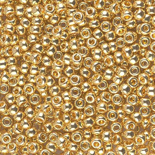 8 0 japanese seed beads permanent 24kt