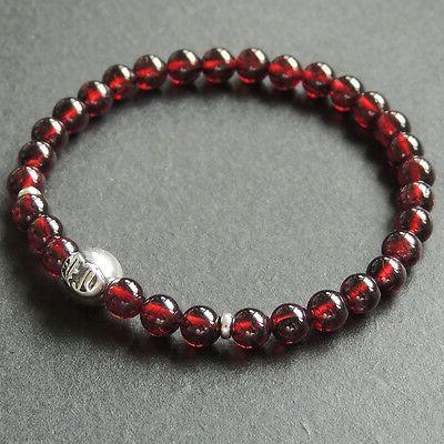 AAA Sterling Bead Bracelet 5.5mm 621