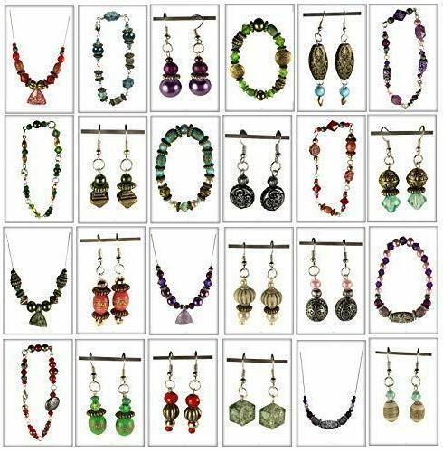 Adults Deluxe Jewelry Beads Findings Starter