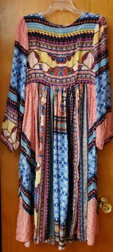 Anthropologie Marcelina Dress 8 NWT Embellished