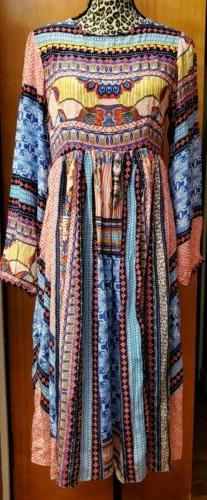 Anthropologie Bhanuni by Jyoti Marcelina Midi Dress 8 NWT Em