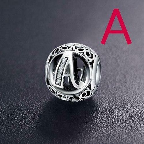 Authentic 925 Sterling Silver A-Z Charms