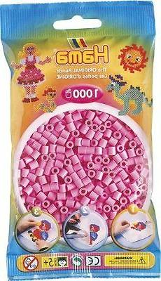 Bulk Buy: Hama Beads Pastel Light Mauve 1000 Midi Beads : 20