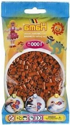 Bulk Buy: Hama Brown 207-20 Color  Iron On Midi Beads
