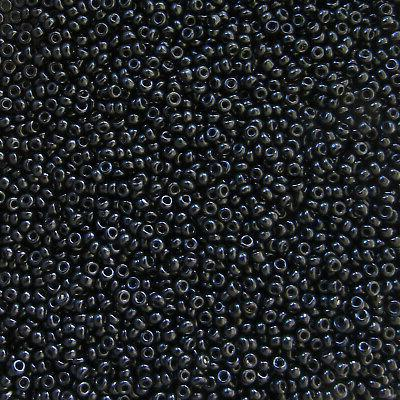 clearance czech seed beads 10 0 black