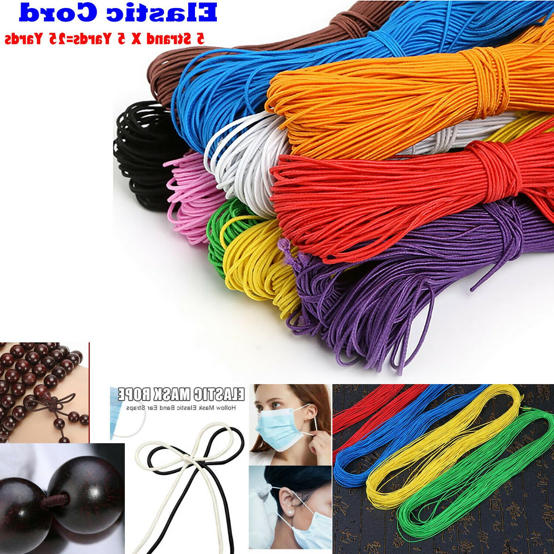 elastic cord string for bracelets necklace beading