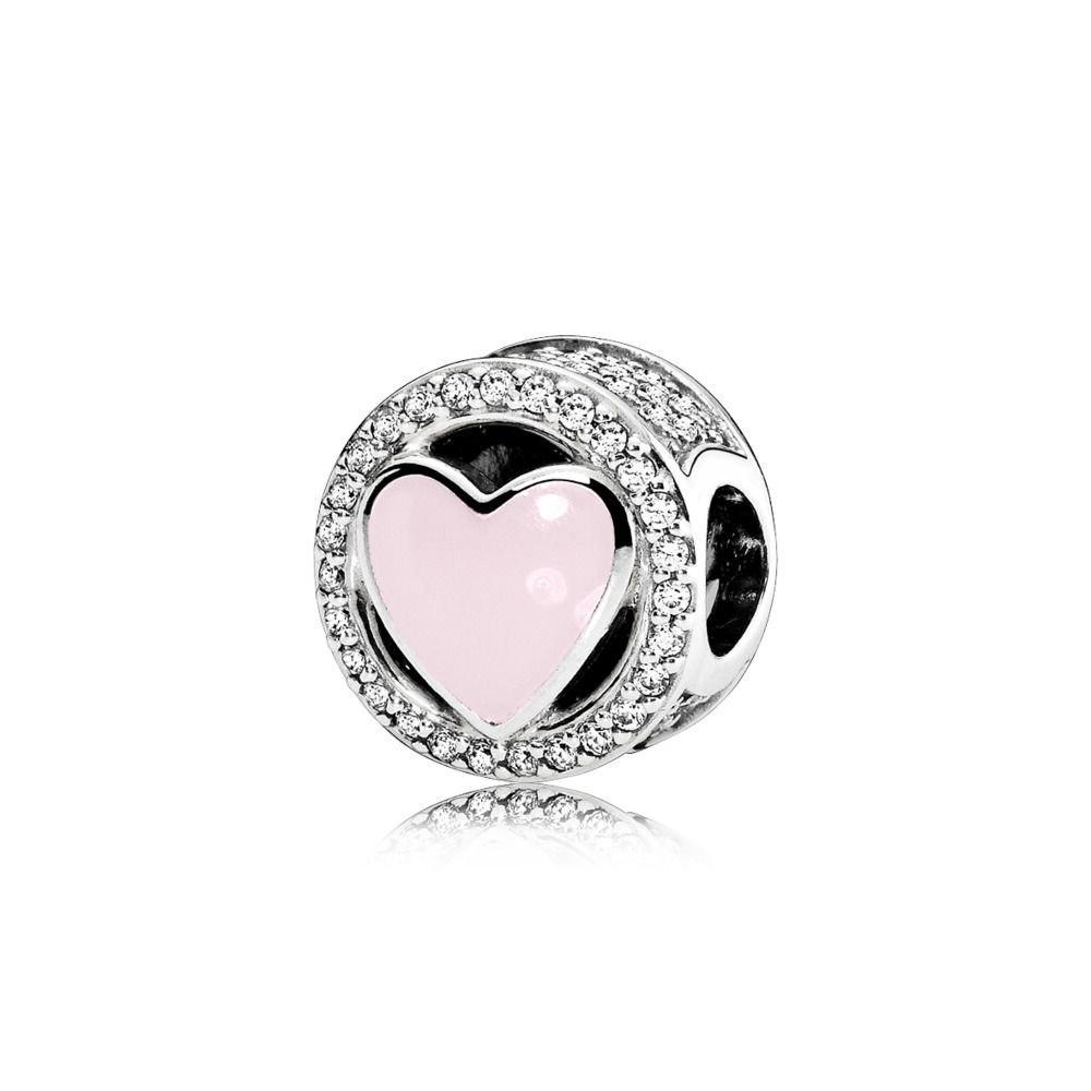 Hot Sale Silver Love Fall Love <font><b>Bead</b></font> Original Charm & Bangles Jewelry