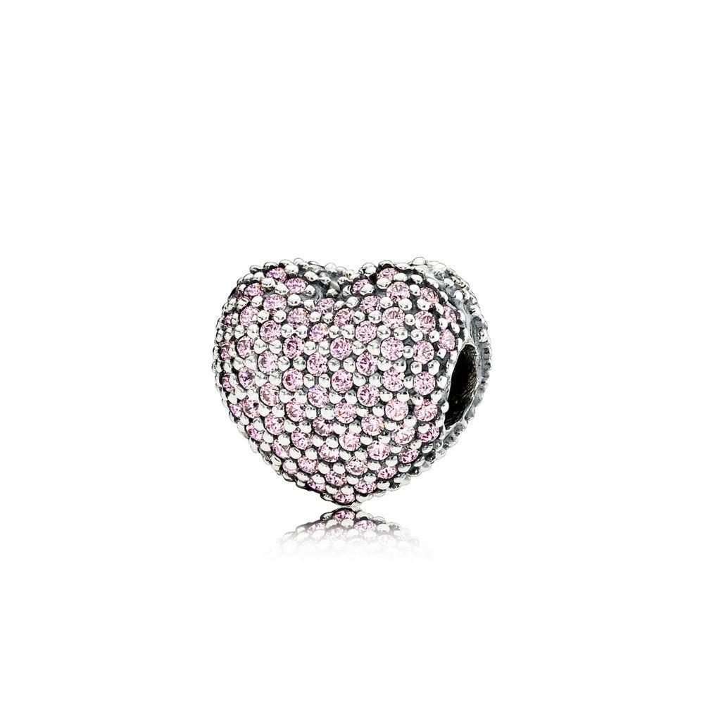 Hot Sale <font><b>Beads</b></font> Love Heart Fall Love <font><b>Bead</b></font> Original Pandora & Jewelry