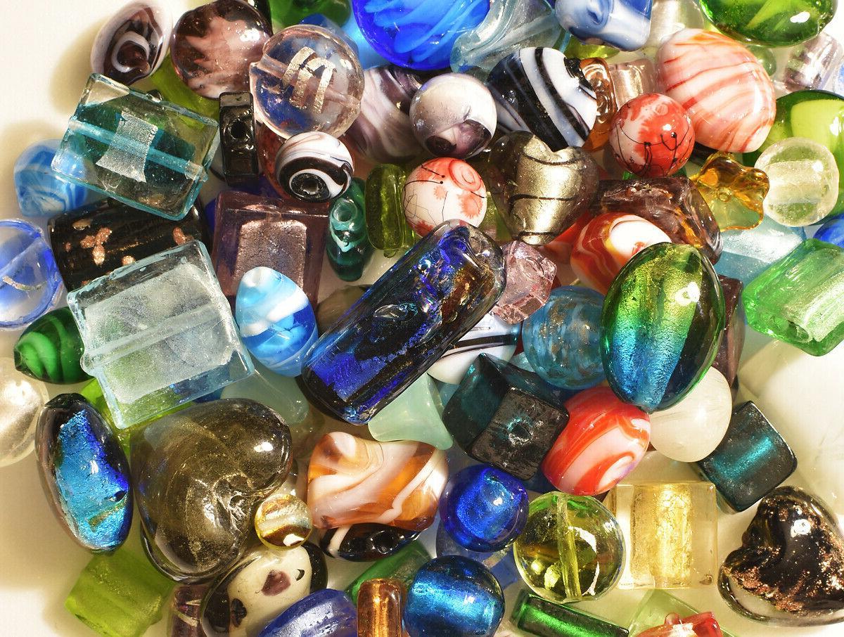 Lampwork Beads, 1 Bulk, Colors, Glass