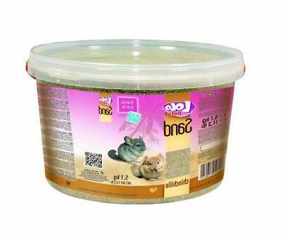 lolo sand for chinchillas in bucket 3l