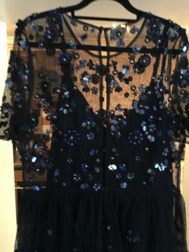 Net/Beaded ASOS Dress